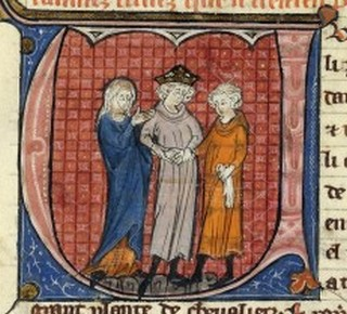 The marriage of Humphry of Toron and Isabella of Jerusalem.