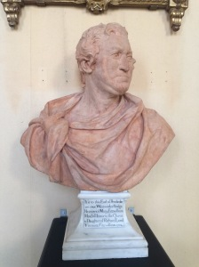 The terracotta bust.