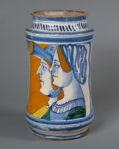 Tiberio and Lucrezia, a happy couple? (Credit: Metropolitan Museum of Art, New York)