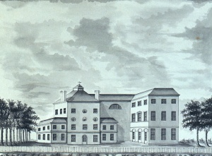 Westcombe House, designed by the earl for himself.