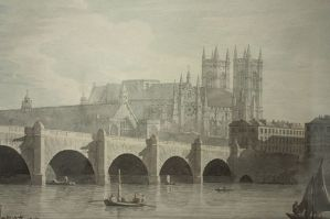 Westminster Bridge by Joseph Farrington, 1789. (Credit: Museum of London)