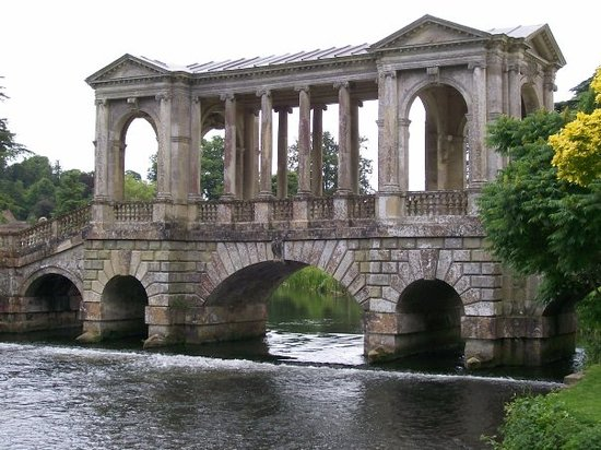 The Palladian Bridge at Wilton, designed by its owner.