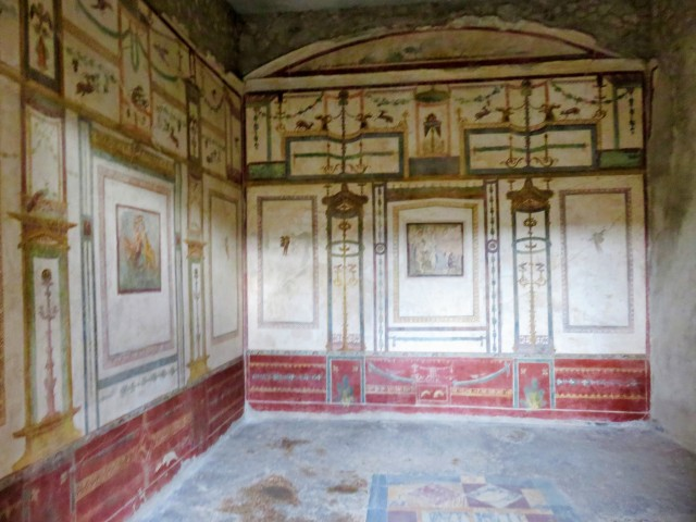 A room in Pompeii.