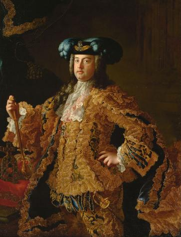 Francis Stephen of Lorraine, later Grand Duke of Tuscany and Holy Roman Emperor, by Martin van Meytens, 1745. (Credit: Kunsthistorisches Museum, Vienna)