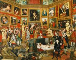 Johan Zoffany's picture of the Tribuna, painted between 1772 and 1778. (Credit: The Royal Collection)